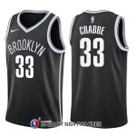 Maillot Brooklyn Nets Allen Crabbe Icon 33 2017-18 Noir