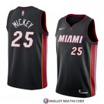 Maillot Miami Heat Jordan Mickey Icon 2018 Noir