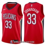 Maillot New Orleans Pelicans Dante Cunningham Statement 33 2017-18 Rouge