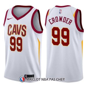 Maillot Cleveland Cavaliers Jae Crowder Swingman Association 99 2017-18 Blanc