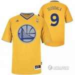 Maillot Orangee Iguodala Golden State Warriors Revolution 30