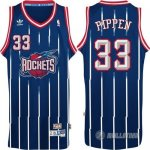 Maillot Bleu Pippen Houston Rockets Revolution 30