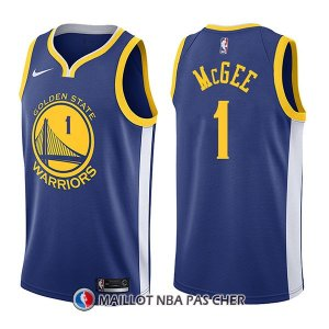 Maillot Golden State Warriors Javale Mcgee Icon 1 2017-18 Bleu