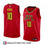 Maillot Atlanta Hawks Jaylen Adams No 10 Statement 2018-19 Rouge