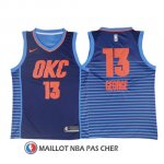 Maillot Authentique Oklahoma City Thunder George 2017-18 13 Bleu