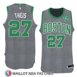 Maillot Noel 2018 Boston Celtics Daniel Theis No 27 Vert