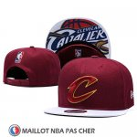 Casquette Cleveland Cavaliers 9FIFTY Snapback Rouge Blanc