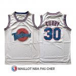 Maillot Tune Squad Curry 30 Blanc