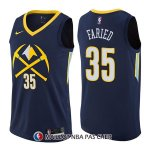 Maillot Denver Nuggets Kenneth Faried Ciudad 35 2017-18 Bleu