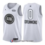 Maillot All Star 2018 Detroit Pistons Andre Drummond 0 Blanc