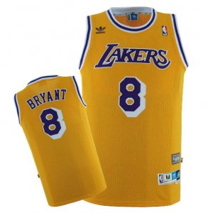 Maillot Los Angeles Lakers Bryant #8 Jaune