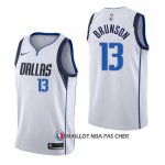 Maillot Dallas Mavericks Jalen Brunson Association Blanc