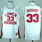 Maillot Bryant Lower Merion Ecole Secondaire #33 Blanc