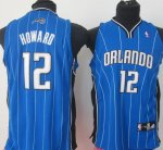 Maillot Enfant de Dwight Howard Orlando Magic #12 Bleu