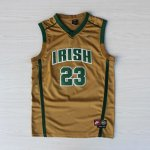 Maillot James St.Mary Ecole Secondaire Irish #23 Or