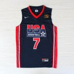 Maillot de Bird USA NBA 1992 Bleu