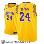Maillot Enfant Los Angeles Lakers Kobe Bryant No 24 Icon 2018-19 Jaune
