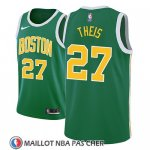 Maillot Boston Celtics Daniel Theis Earned 2018-19 Vert