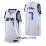 Maillot Dallas Mavericks Dwight Powell Association Blanc