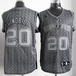 Maillot Ginobili San Antonio Spurs #20 Static Fashion