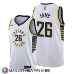Maillot Indiana Pacers Jeremy Lamb Association Blanc