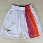 Short ABA Miami Heats Blanc