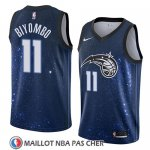 Maillot Orlando Magic Bismack Biyombo No 11 Ciudad 2018 Bleu