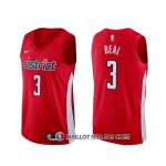Maillot Washington Wizards Bradley Beal Earned Rouge