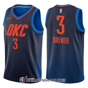 Maillot Oklahoma City Thunder Corey Brewer Statement 3 2017-18 Bleu