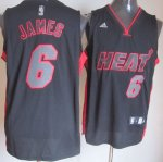 Maillot James Miami Heat #6 Noir