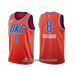 Maillot Oklahoma City Thunder Danilo Gallinari Statement Orange