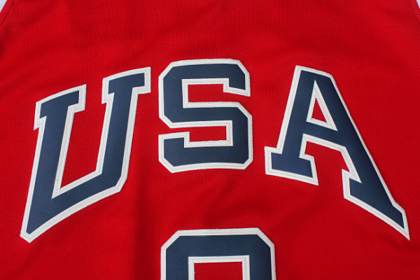 Maillot de Jordan USA NBA 1984 Rouge