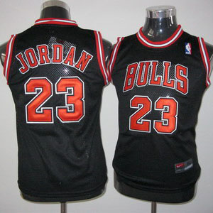 acheter maillot enfant de jordan chicago bulls 23 noir. Black Bedroom Furniture Sets. Home Design Ideas
