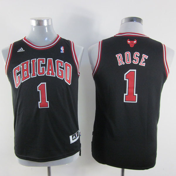 acheter maillot enfant de noir rose chicago bulls revolution 30. Black Bedroom Furniture Sets. Home Design Ideas