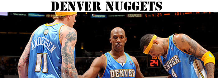 Maillot NBA Denver Nuggets Pas Cher