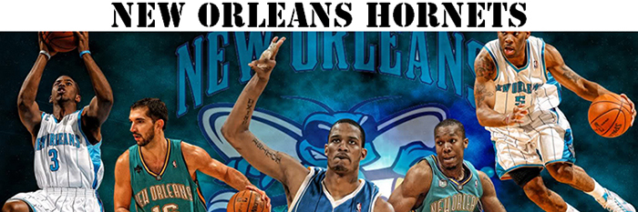 Maillot NBA New Orleans Hornets Pas Cher