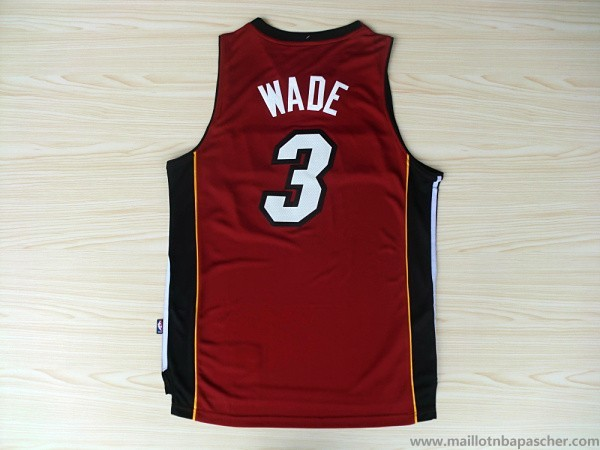 Maillot Rouge Wade Miami Heat Revolution 30